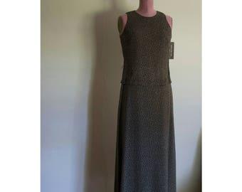 1990s NOS Jones New York maxi dress