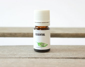 Soothing Blend - Peppermint, Eucalyptus, Ravensara, Tea Tree, Rosemary & Marjoram Essential Oils.  Aromatherapy Oil Blend, Cold and Flu Oil
