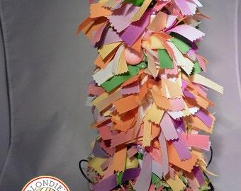 Easter and Spring Grosgrain Pastel Ribbon Tree - Chicks - Glitter Balls