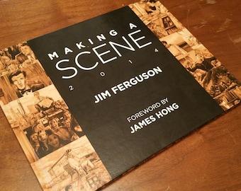 Making a Scene - Jim Ferguson 2014 Movie scene art book.