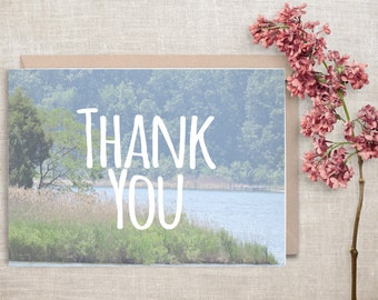 Thank You Card, Photo Card, Nature Card, Printable, Digital Download, 5x7