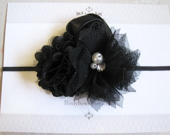 Black Headband, Baby Headbands, Baby Girl Headbands, Baby Girl Headbands, Infant Headbands, Baby Bows