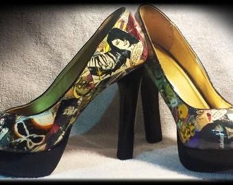 Custom Comic Heels