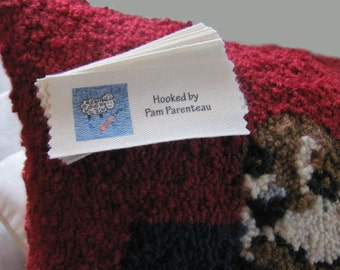 """Personalized Rug Hooking Labels-Large size-1.5"""" x 3.5"""""""
