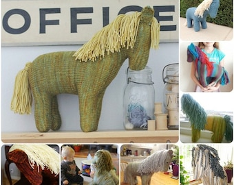Marin the Spring Horse, PDF, Waldorf, Digital Download