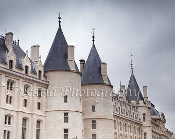 La Conciergerie, Paris, France, Instant Download, Digital, Printable Fine Art Photography, Wall Decor, High Resolution, E53