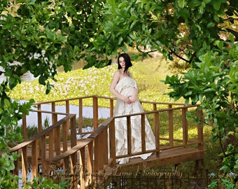Digital Background, Maternity Background, Engagement, Wedding Backdrop, Family Background,  Lake, Dock, Water Lillies, Outdoor, Senior