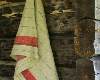 Linen bath towel and hand towel Longing