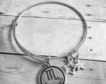 Scorpio Charm Bracelet
