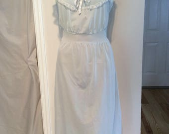 Baby Blue nightgown size small