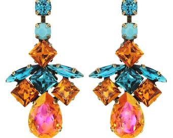 "Tova ""Belinda"" swarovski crystal earrings"