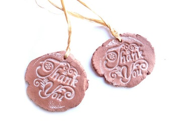 Gift Tags, Gift Tags Set, Thank You Tags, Primitive Tags, Writings Tags, Hang Tags, Pottery Tags, Pottery Imitation, Rustic Tags, Shabby