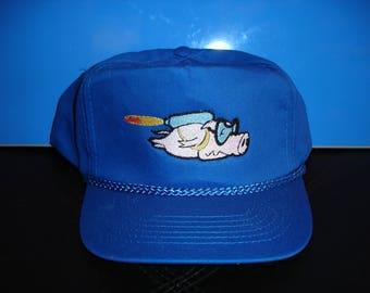 flying pig hat