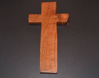 Unique Wood Cross; Christian Gift; Cross Wall Decor; Wood Wall Cross; Wedding Gift; Messquite; Free Ground Shipping USA; cc35-1063017