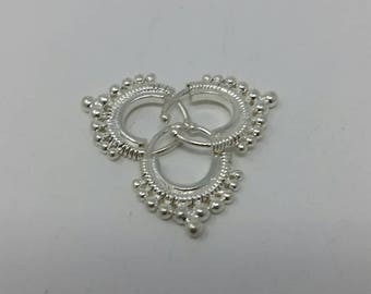 925 sterling silver nose ring