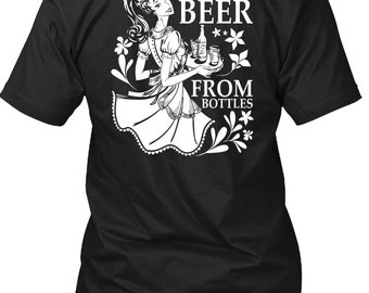 I Rescue Beer From Bottles T Shirt, I Love Beer T Shirt