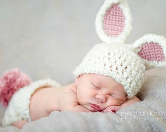 Baby Girl Easter Outfit | Baby Bunny Costume | Forest Friends Baby Shower | Woodland Animals Nursery | Baby Shower Gift | Animal Costume