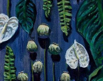Blue Botanical