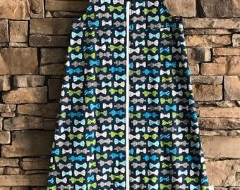 18-24 month bow tie sleepsack ON CLEARANCE!
