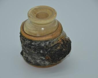 Rustic Weed Pot/Bud vase