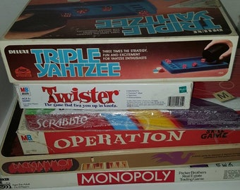 Bundle 7 Mostly Vintage Complete Board Games