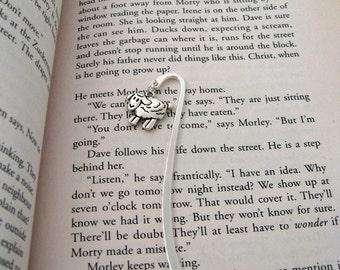 "Mini Sheep Book Mark ( Metal ) 3.5"" long"
