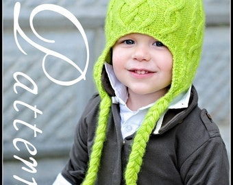 make your own Sweet 'n Sour Apple Hat (DIGITAL KNITTING PATTERN) baby toddler child adult
