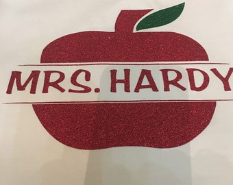 apple teacher shirt