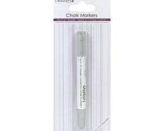FELT CHALK MARKERS GREY MULTI SURFACES ERASABLE FAST DRYING CHALK MARKER
