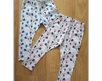 Pink Poppy Leggings 9-12M