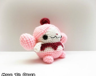 Crochet Slurpuff Inspired Chibi Pokemon