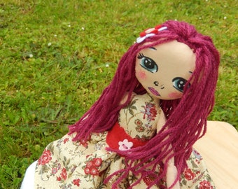 Lucile, the pretty rag doll - only one