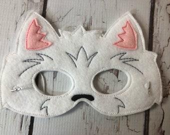 West Highland terrier mask