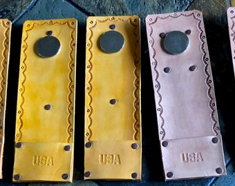 Leather Bee Hive Tool Holder