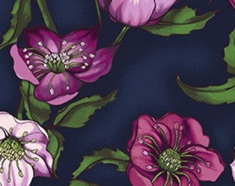 Lenten Rose -Navy Blue Y2278-53