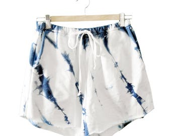 Womens Shibori Sweatshort