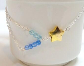 Sternschnuppe-Halskette