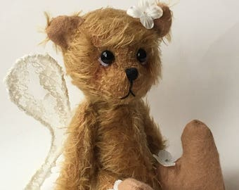 Artist Bear by Chicago Bear Co: Mohair Fairy Bear Flora