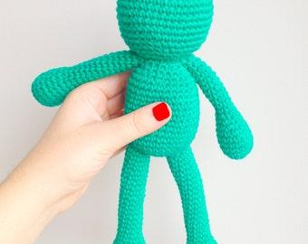Frog Plush, Frog Stuffed Animal, Frog Plushie, Frog Stuffed Toy, Crochet Frog