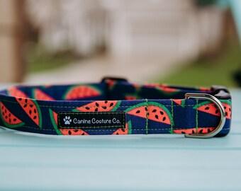 One in a Melon Dog Collar