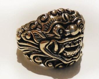 Baliense Barong God of Good Ring