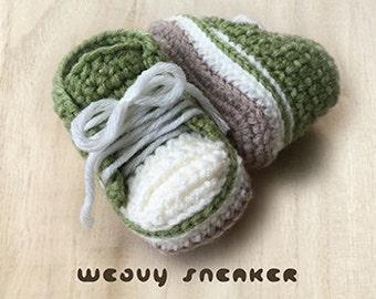 Crochet Baby Pattern Weavy Baby Sneakers Crochet Pattern Baby Shoes Crochet Baby Booties Crochet Pattern Newborn Sneakers Baby Ankle Boots