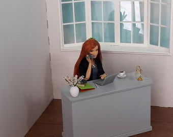 Office 1/6 for Barbie dolls, Blythes, fashion royalty, pullip, hot toys or the same size
