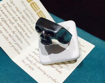Silver Skull ring 925 Johnny Depp mod.