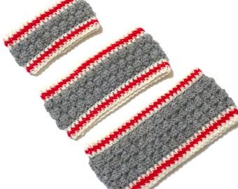 Dog Scarf Neck Warmer Cowl Cat Pet Neckwarmer Gray Red Cream Dog Collar Pet Cat Dog Clothes Puppy Accessories Winter Cowl Knit Crochet