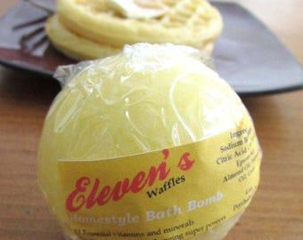 Elevens - Stranger Things 11 inspired waffle bath bomb