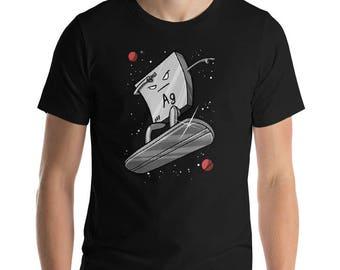 Science Gift Chemistry Gift Chemistry Shirt Silver Shirt Science Shirt Geek Shirt Mens Shirts Nerd Teacher Shirts Surfer Gift For Men