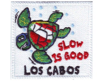 Scuba Los Cabos Embroidered Patch