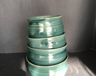 Turquoise Snack Bowls