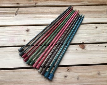 10-inch Wooden Knitting Needles - Knitter's Pride Dreamz - Varying Sizes - Straight Knitting Needles - Tools - Supplies - Knit - Purl